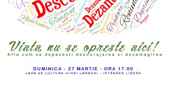 poster eveniment descurajat, dezamagit?