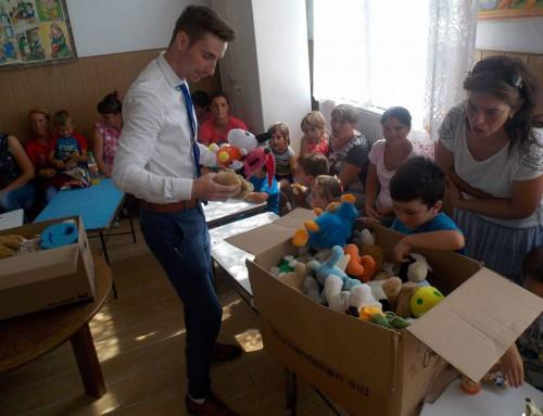 Donație de jucării