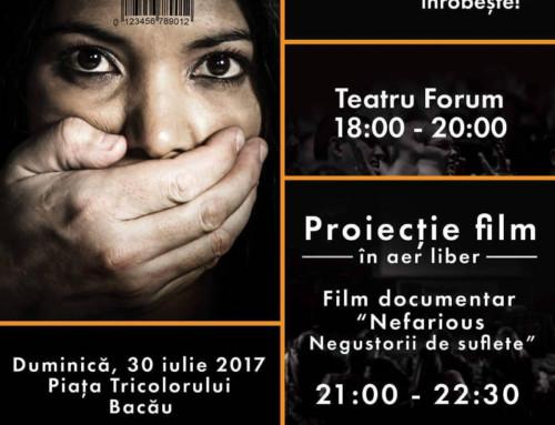 Asociația Valoare Plus marchează Ziua mondială împotriva traficului de persoane