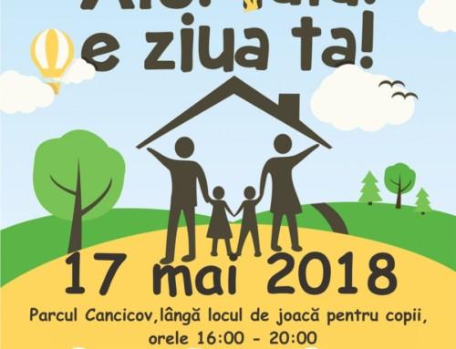 Ziua Tatălui 2018 – joi17 mai, ora 16:00 în Parcul Cancicov