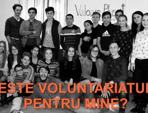 Emisiune radio: Este voluntariatul pentru mine?