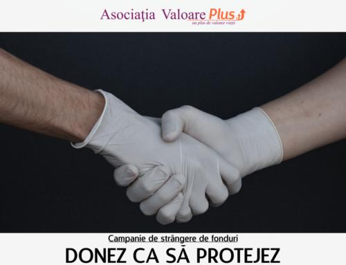 Campanie de strângere de fonduri: Donez ca să protejez